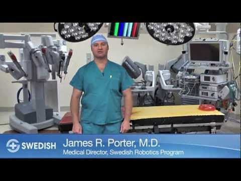 The da Vinci Integrated Robotic Surgery Suite at Swedish