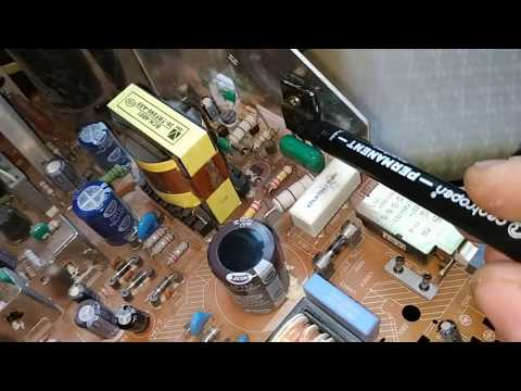Стрелочник против мультиметра. Ремонт телевизора TCL 2159 шасси M28B.