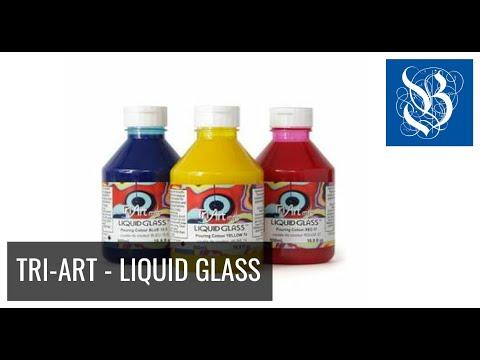 Gieten met Liquid Glass van Tri-Art
