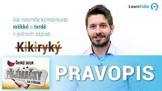 PŘIJÍMAČKY NA STŘEDNÍ ŠKOLY (4LETÉ OBORY) - ČEŠTINA - LEKCE 1: Pravopis - Tomáš Ficza 💙 LearnTube.cz
