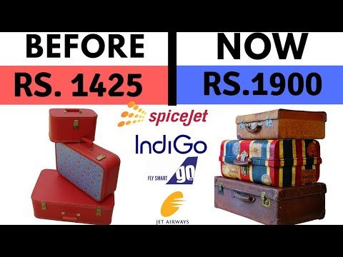 IndiGo, GoAir and SpiceJet increase Check-in Baggage Charges beyond 15 kg