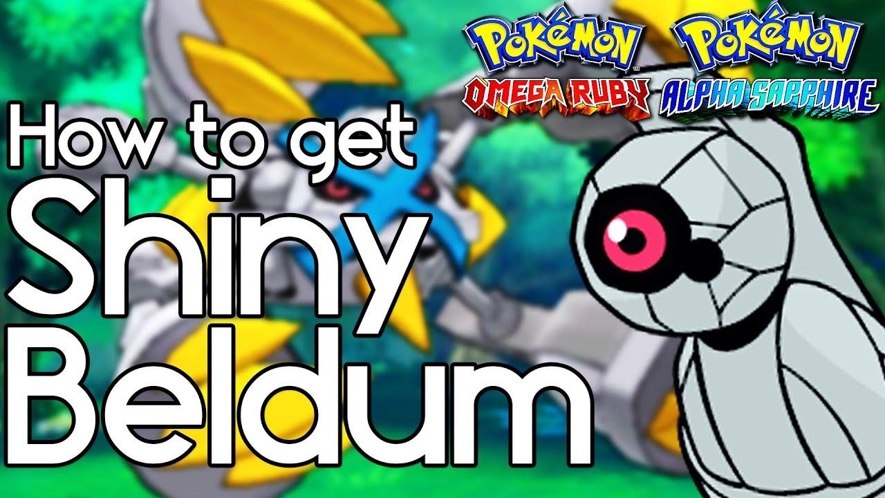 How To Get Shiny Beldum Pokemon Omega Ruby Alpha