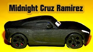 Cruz Ramirez Custom Midnight Cruz Ramirez Pixar Cars Customs all Black to add to my Collection