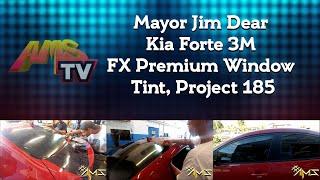 Mayor Jim Dear Kia Forte 3M FX Premium Window Tint, Project 185