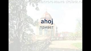 Чешский язык. Фразы Приветствия