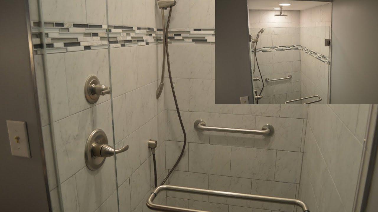 Remodelacion de duchas peque as youtube - Duchas pequenas ...