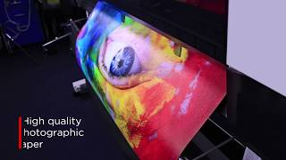 High quality large format inkjet paper - BRIGHT COLOURS