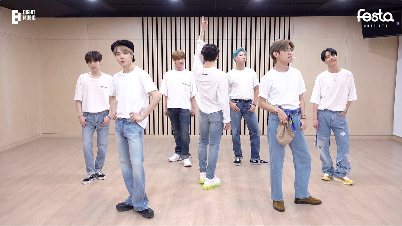 Download [CHOREOGRAPHY] BTS (방탄소년단) 'Dynamite' Dance Practice (Cute & Lovely ver.) #2021BTSFESTA