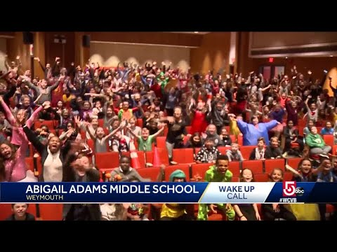 Wake Up Call from Abigail Adams Middle School