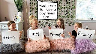 Who Is Most Likely To.../ Francesca and Leah
