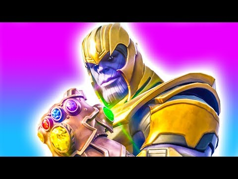 Playing as Thanos! NEW Infinity Gauntlet LTM ? Fortnite Infinity Gauntlet Thanos Gameplay PC thumbnail
