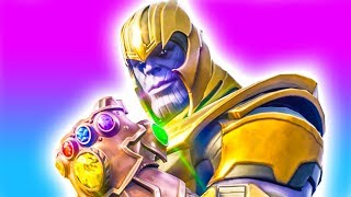 Playing as Thanos! NEW Infinity Gauntlet LTM 💥 Fortnite Infinity Gauntlet Thanos Gameplay PC