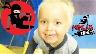 Lucas Becomes a Little Ninja!