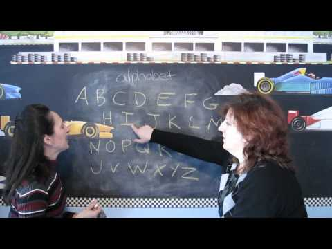 Lesson 7 - The Alphabet - Learn English with Jennifer