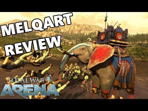 Total War ARENA - MELQART Premium Unit Review & Gameplay
