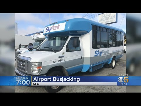 Shuttle Bus Stolen From San Francisco International Airport
