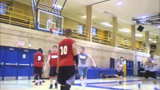 FRANCIS CHOW attacking the basket - Megacity Basketball Toronto