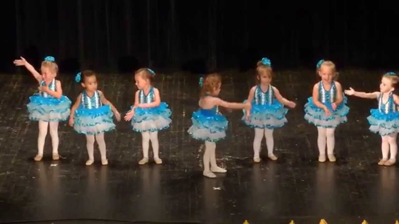 How Cute 2 Amp 3 Year Old Dance With Me Class Recital