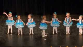 How Cute! 2 & 3 year old Dance With Me Class - Recital 2014