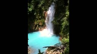 Waterfall Rio Celeste, C.A.T Central America Travelers
