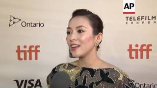 Actress Ziyi Zhang talks about being a juror for TIFF