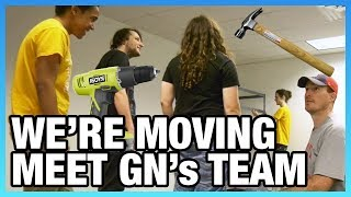Day 1 Move & Meeting GN's Team: GN Moving Vlog, Part 2