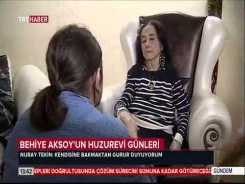 Behiye Aksoy'un huzurevi günleri