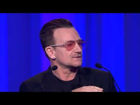 Light-Hearted Bono Pleads For European Unity