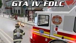 GTA IV FDLC Script #1 - Vehicle Collisions & Large Scale Fires
