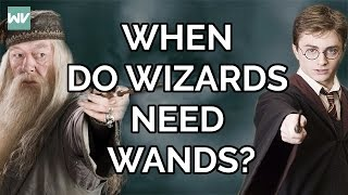 How Magic Works In Harry Potter! || Why Are Spells Spoken And When Do Wizards Need Wands?