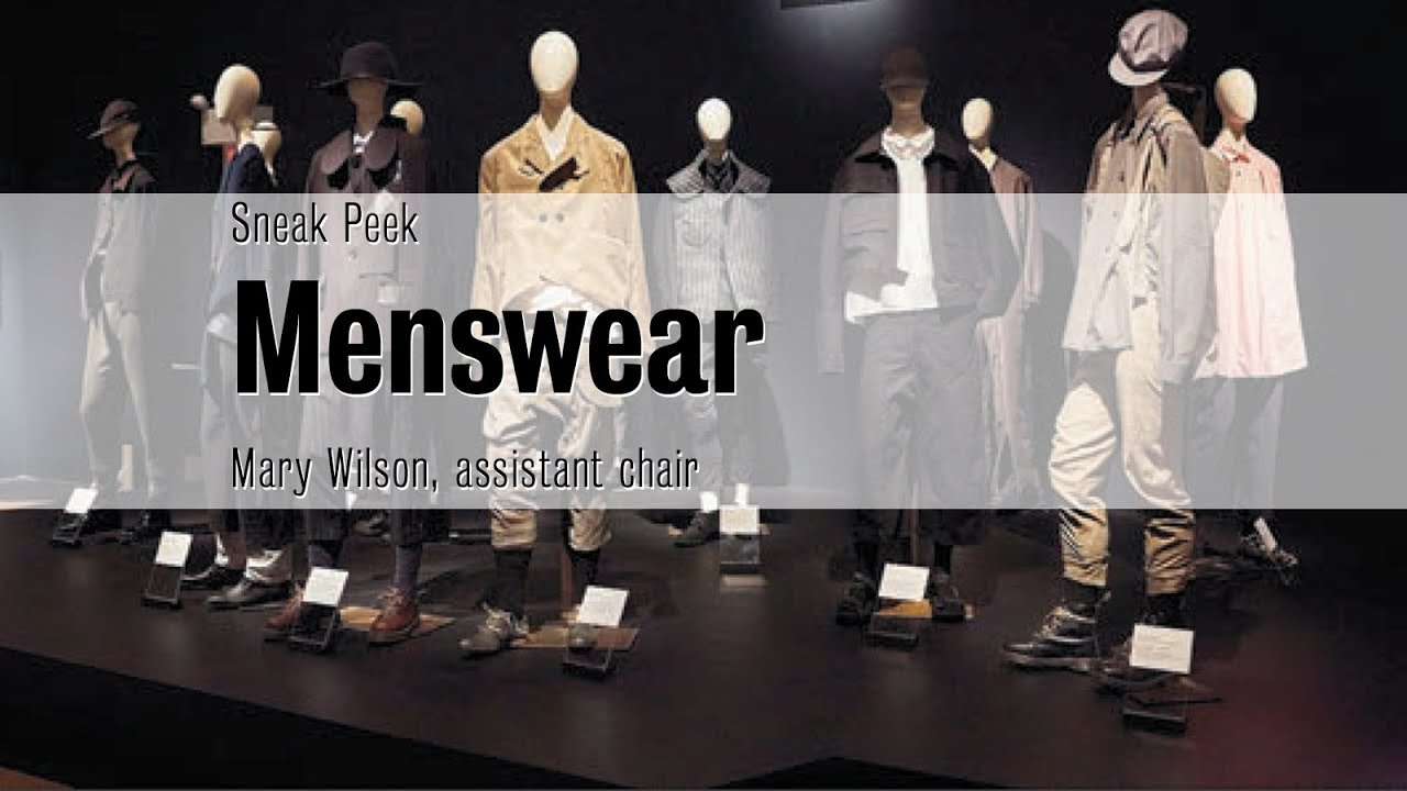 Menswear Fashion Institute Of Technology