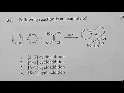 Csir net chemical science solved question june 2017 ,8+2