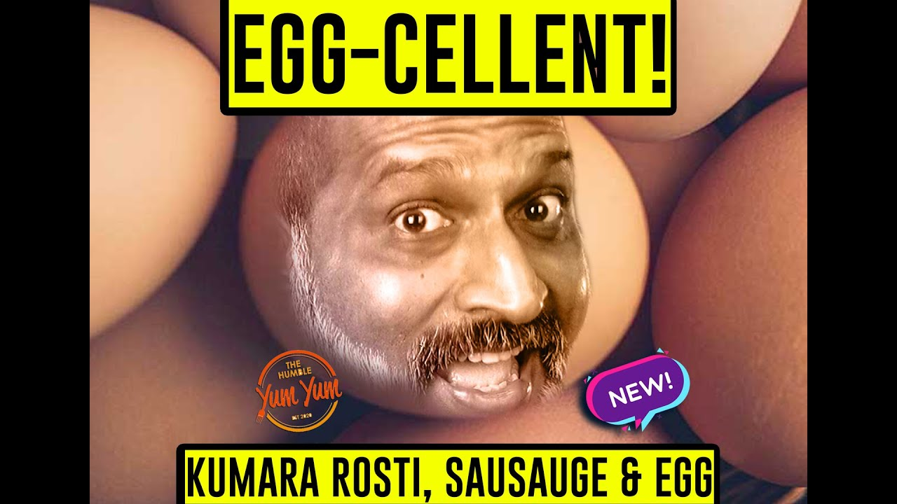 KUMARA CHORIZO EGG ROSTI . (EGG-CELLENT - PART 1) Feed 4 for under $20! ONE PAN!
