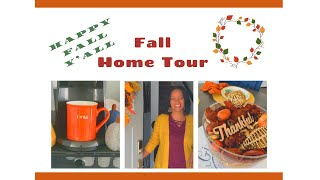 New! 🍁2019 🍁FALL HOME TOUR | FALL DECORATING| AFFORDABLE DECOR|