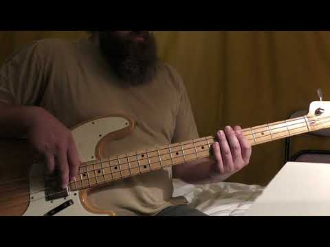 """""""Just Suddenly Peaceful"""" - BRAIN DAMAGE Bass Cover"""