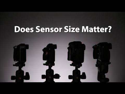Sensor Size Comparison for Photography