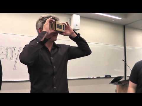 Philip Rosedale Tries Google Cardboard