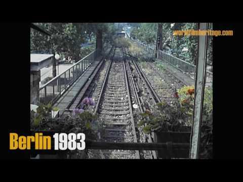 Berlin 1983 SBahn Rundfahrt  SBahn railway system in the divided city