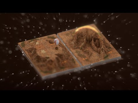 Books Are Worlds | Cinema 4D VFX Short [readscour]