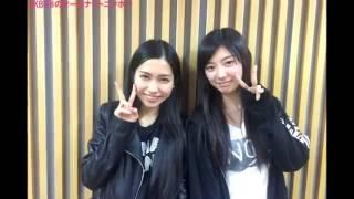 AKB48の田野優花さんと武藤十夢さんがラジオで、 リスナーから届いた「...