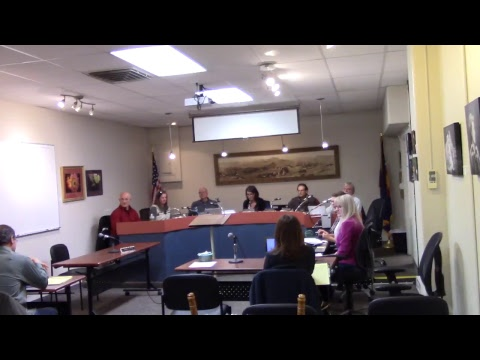 Town of Lyons Board of Trustees Meeting, January 2, 2018