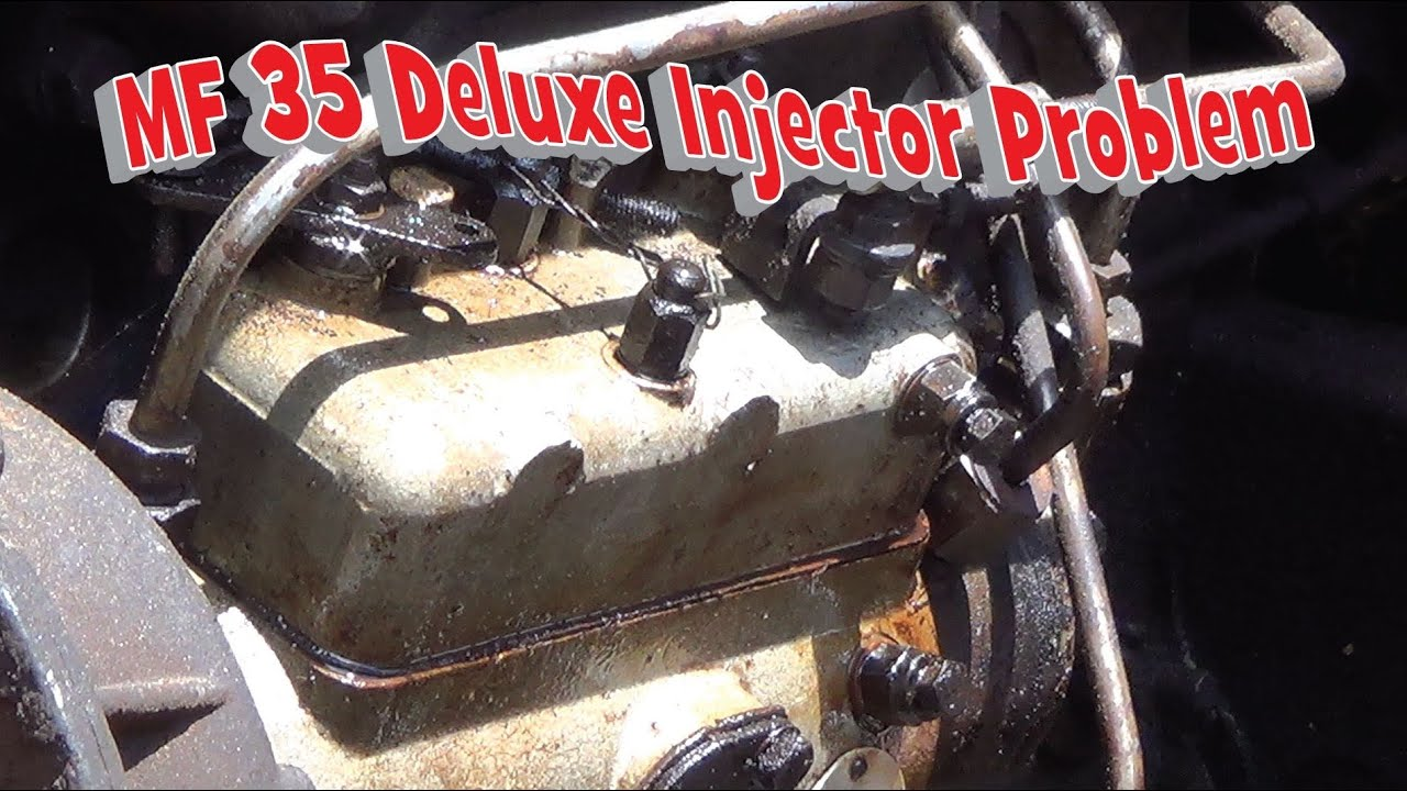 massey ferguson 35 deluxe injector problem part 1 [ 1280 x 720 Pixel ]