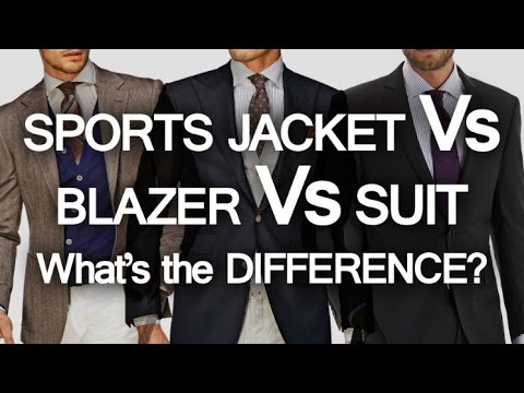 Sports Jacket - Blazer - Suit - What's The Difference? | 3 C