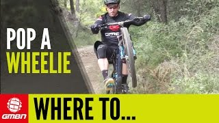 How To Use Wheelies On The Trail - Where Should I Wheelie?