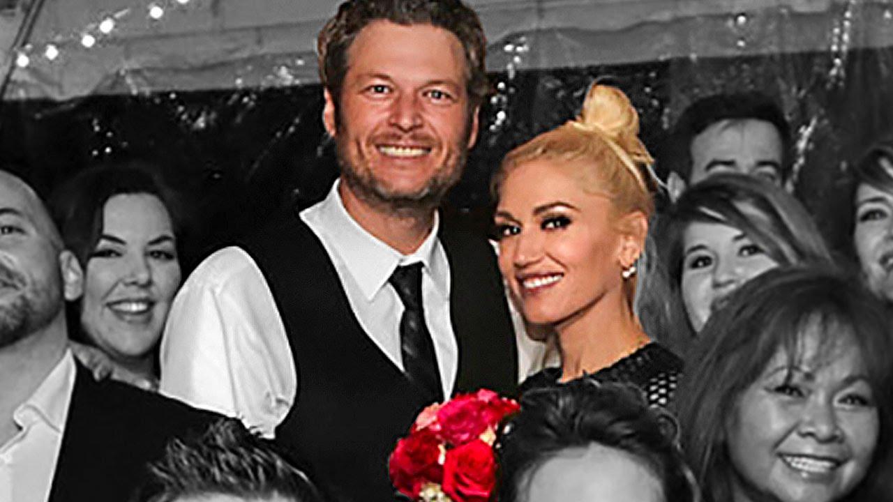 Blake Shelton And Gwen Stefani Wedding Pictures.Blake Shelton Gwen Stefani Wedding The Voice Couple Secretly