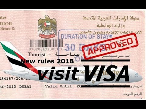 good News for tourist visa visitor in UAE 2018 | Dubai new rule for visit visa 2018|technical fahim
