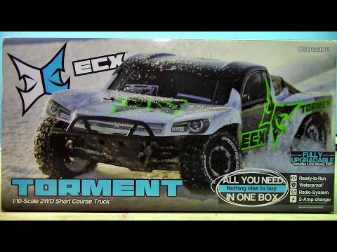 RC Overload - Horizon Hobby ECX Torment 1/10 2WD SCT Truck Unboxing