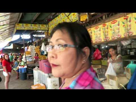 Philippine Wet Market, Fruits, Vegetables And Grains, Tagum City, Philippines