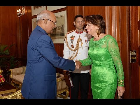 President Kovind hosts dinner for President of the Swiss Confederation