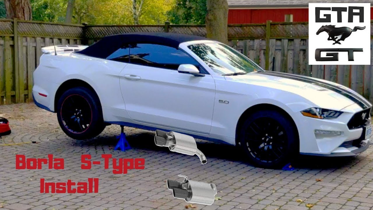 2019 Mustang GT Borla S-type install video/ Pump up the volume!!